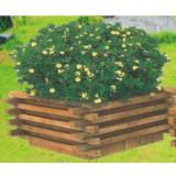 户外景观木制组合花箱