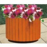 景区户外绿化木制花箱