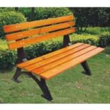 别墅花园有靠背休闲椅