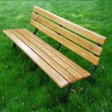 经典原木景区公园椅