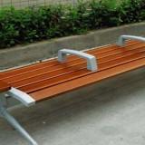 户外不锈钢底座长椅