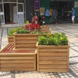 步行街户外组合花箱