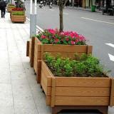 步行街隔离花箱