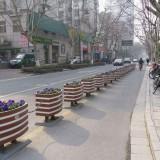市政护栏PVC花箱