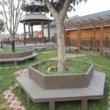 防腐木景观围树椅