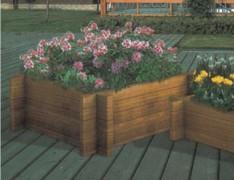 组合式木制花箱
