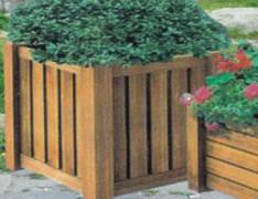 园林组合式木制花箱