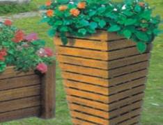 花篮式木制花箱