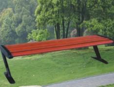 无靠背休闲公园椅