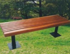 花园无靠背休闲公园椅