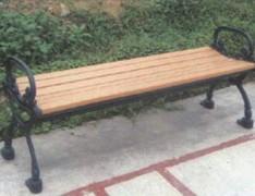 带扶手无靠背休闲椅