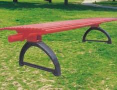 社区无靠背休闲椅