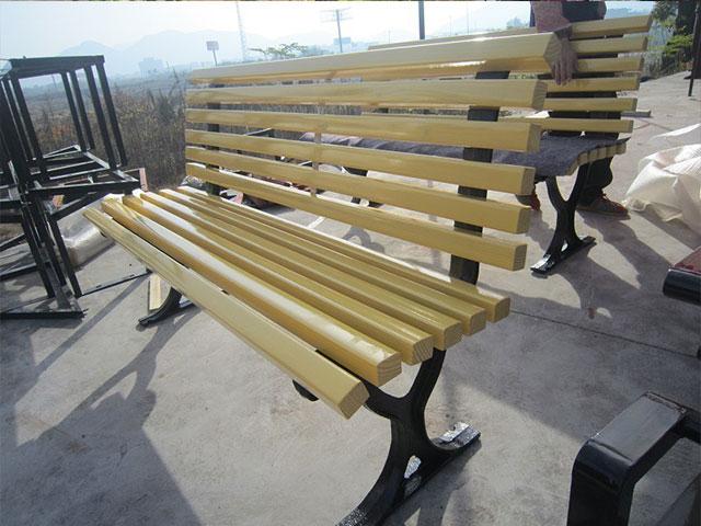 实木休闲有靠背椅