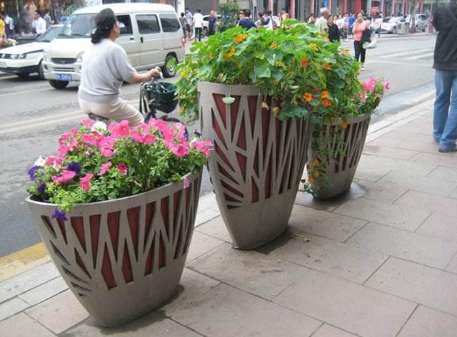 木质花箱与可移动花箱各有什么特点