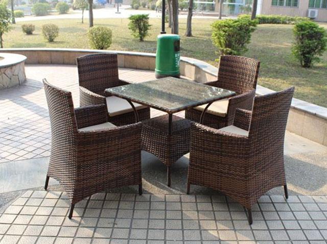 别墅区户外组合园林椅