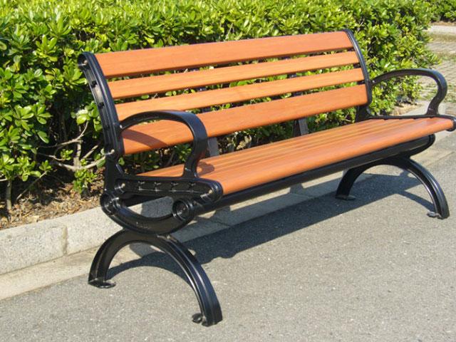 户外为什么都用塑木园林椅