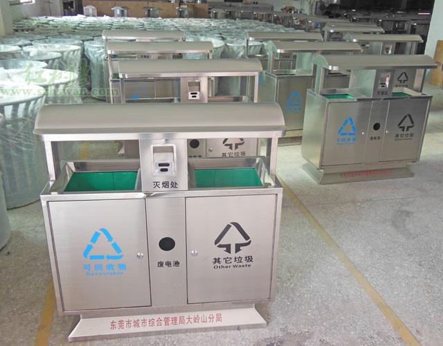 不锈钢垃圾桶中碳元素的两重性