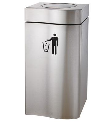 摇盖室内不锈钢垃圾桶