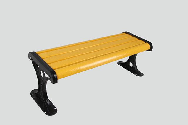 固定式底座户外园林椅